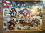 Lego Creator Winter Village Market 10235 - New In Sealed Box Discontinued