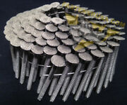 1 3/4 X .120 Ringshank 304 Stainless Steel Coil Roofing Nails 3600ct