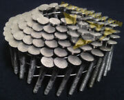 1 1/2 X .120 Ringshank 304 Stainless Steel Coil Roofing Nails 3600ct