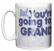 New Grandpa Mug You're Going To Be A Grandpa Pregnancy Announcement Cup Baby