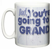 New Grandfather Mug You're Going To Be A Grandad Pregnancy Announcement Baby