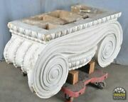 Large Ionic Pilaster Capital 50 Dated 1903 Salvaged Princeton History