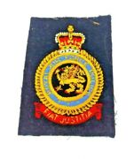Raf Police Royal Air Force Military Cloth Patch / Badge