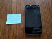 Apple Ipod Touch 4th Generation 8gb Cracked Glass/screen Bad Charging Port