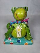 Penny Mcallister Mr Ribbitt Midwest Seasons Of Cannon Falls New Old Stock