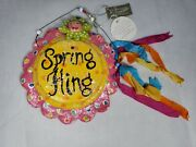 Penny Mcallister Spring Fling Sign Midwest Seasons Of Cannon Falls New Old Stock
