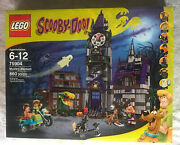 🔥lego 2015 Scooby-doo 75904 Mystery Mansion And 75902 The Mystery Machine Misb