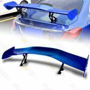 57 Universal Painted Blue Dragon-1 Style Abs Gt Trunk Adjustable Spoiler Wing