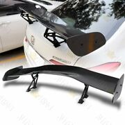 57 Universal Carbon Look Dragon-1 Style Abs Gt Trunk Adjustable Spoiler Wing
