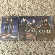 Castle Season 1, 2, And 3 Dvd Set New Sealed