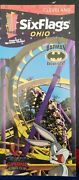 2000 Six Flags Ohio Geauga Lake Amusement Park Brochure Guide Pamphlet