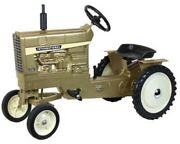 International 1456 Gold Pedal Tractor With Fenders