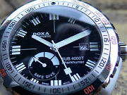 Doxa Sub 4000t Sharkhunter Power Reserve - The Real Best Of Diver