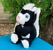 Impossible To Find Rare Vintage 1978 Russ Saucy Skunk 6 Plush Stuffed Animal