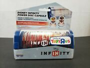 Rare Disney Infinity Power Disc Capsule Blue - Toys R Us Exclusive - New Sealed
