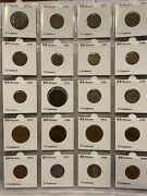 Mexico Coin Lot 2 1875-2012 145 Coins All 2x2 Carded Many Key Dates