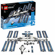 Lego Ideas International Space Station 21321 Building Kit 864 Pieces Brand New