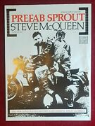 Prefab Sprout 'steve Mcqueen' Promotional Poster