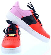 Nike Air Force 1 And03907 Bright Crimson/obsidian Size 8.5