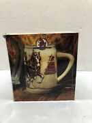 Clydesdales On Parade World Famous Budweiser Stein
