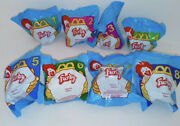 1998 Mcdonalds Furby Happy Meal Toys Complete Set Of 8 Unopened Plastic Bags