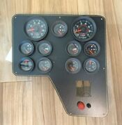 Grady White Omc Dual 11 Gauge Panel For Twin Engines