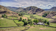 Lake District Photographic Print - Martindale From Hallin Fell