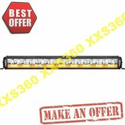 Vision X 30 Shocker Dual Action 18 Led Light Bar White Vector And Amber Photon