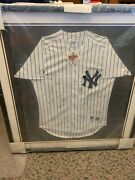 1998 Yankees Team Signed World Series Jersey 22 Signatures Incl Jeter Rivera