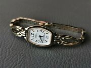 Vintage Watches Women's Chayka Seagull Ladies Soviet Cocktail Russian Gold Tone