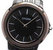 Citizen Eco Drive One Ar5054-51e Black Dial Solar Powered Menand039s Watch_599314