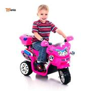 Kids Bike Toys Ride On Pink Motorbike Battery Operated Rechargeable Kids Ages 2