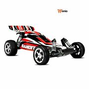Electric Cars With Remote Control Scale Off Road Buggy Car Red - Rsenio
