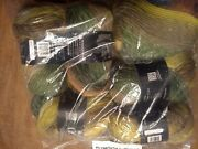 Lot Of 6 Plymouth Greens Color 100 Gina Chunky Yarn - Matching Dye Lot New