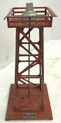 Vintage Lionel Trains Red 394 Beacon 11 Tower Free Shipping