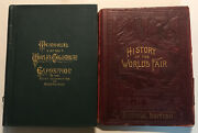 History Of Worlds Fair/memorial Of Worlds Columbian Exposition Chicago 1893 Lot