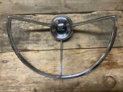 1961-63 Ford Falcon Steering Wheel Horn Ring/button