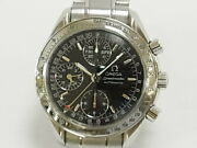 Omega Speedmaster 3523.50 Chronograph Black Dial Automatic Menand039s Watch Ex++ Rare