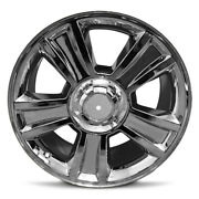 Set Of 4 20 Inch Chrome Wheel Rim For 2007-2013 Chevy Avalanche 6 Lug 20x8.5