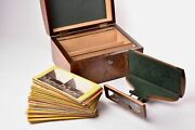 Stereoscopic Viewer With Box And Vues. The Stereoscopic Treasury