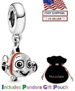 New Authentic Pandora Sterling Silver S925 Disney Finding Nemo Dangle Charm