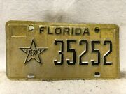 1990andrsquos Florida Sheriff License Plate