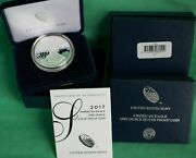 2017 W American Silver Eagle Proof Dollar Us Mint Ase Coin With Box And Coa 10