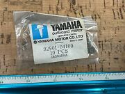 New Oem Lot Of 10 0700p15 Yamaha Outboard Lock Washer 92901-04100