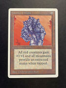 1x Gauntlet Of Might Lp Lightly Played Rare Card Mtg Unlimited Reserved List