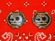 New Z31andnbspnos 1984 Nissan 50th Car Badge- Factory Installation Guide.