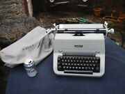 Rare Vintage Facit T2 Typewriter With Cover- Needs Attention Please Read Details