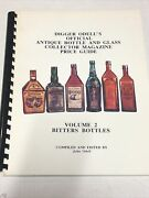 Digger Odelland039s Official Antique Bottle And Glass Collector Vol 2 Bitters Bottles