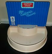 1987 Applause California Raisins Stage Store Display And Sign Claymation 34 Yrsold