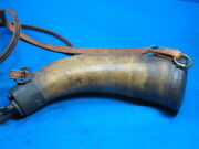 Vintage Powder Horn Early 1800's Excellent Condition